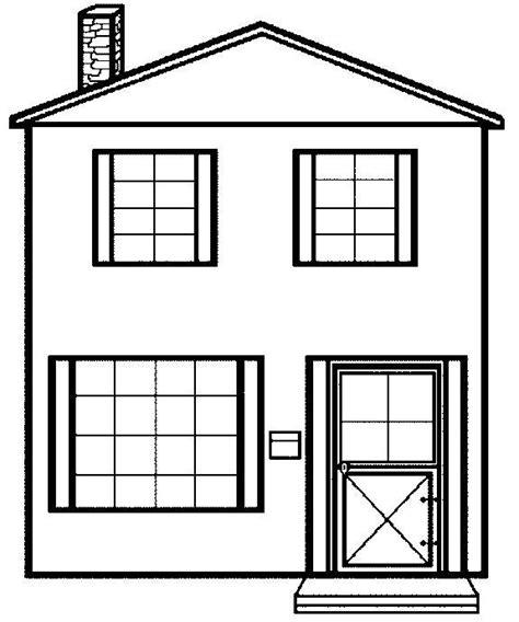 Free House Coloring Sheets Printable