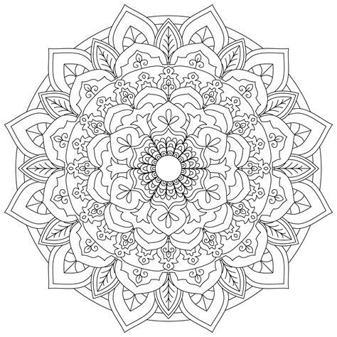 Free Mandala Designs to Print Art is Fun