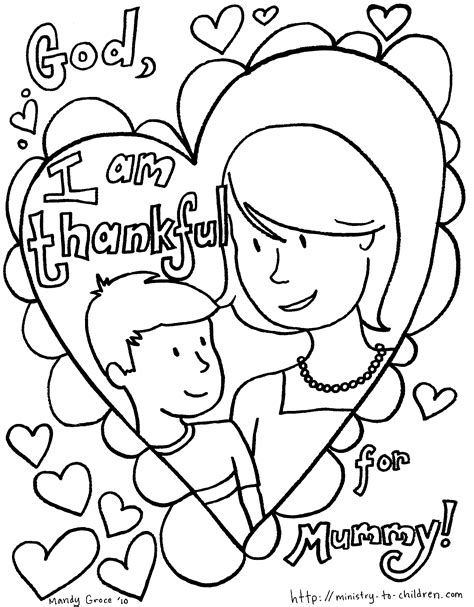 Free Mummy and Me Colouring Pages Colouring pages for