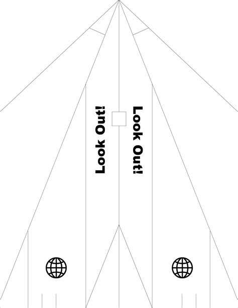 Free Paper Airplane Templates 2020site