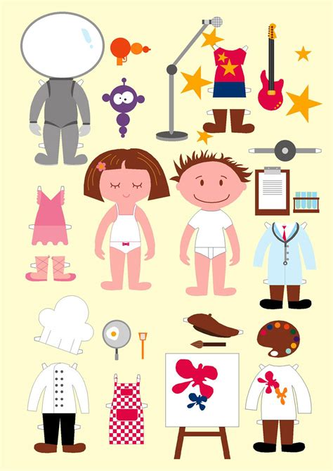 Free Paper Dolls at ss42
