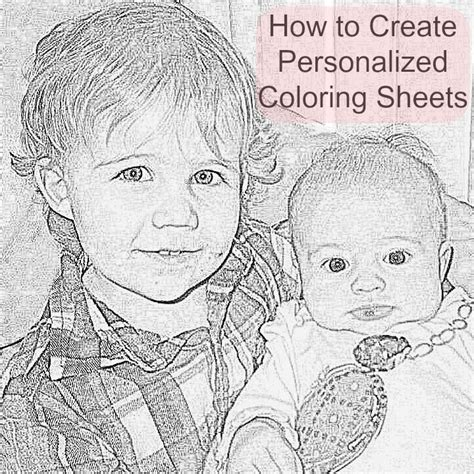 Free Personalized Coloring Sheets DIY Beauty Through