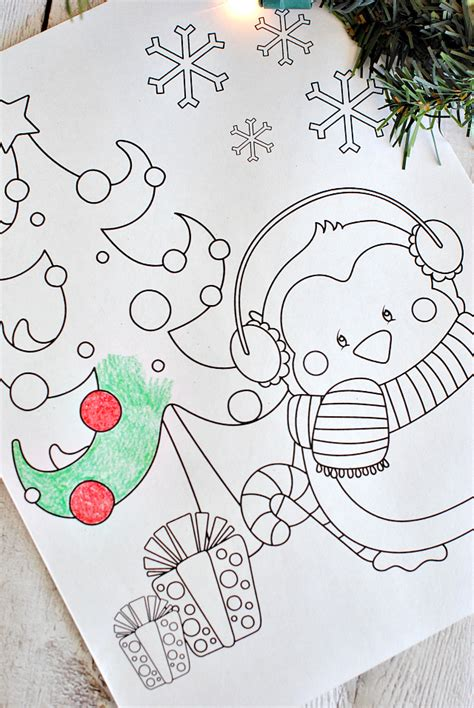 Free Printable Christmas Coloring Pages Crazy Little