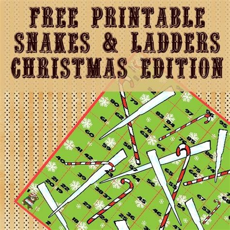 Free Printable Snakes and Ladders Itsy Bitsy Fun