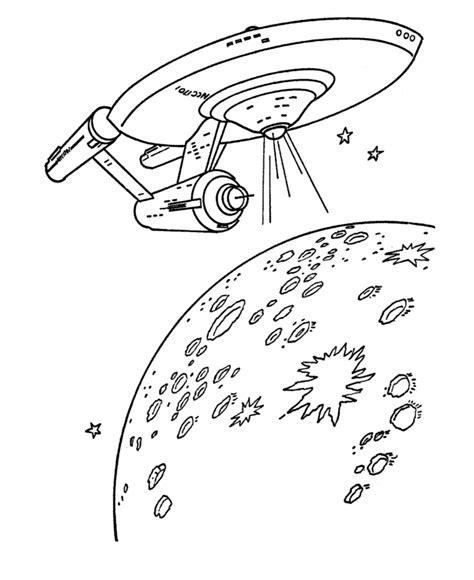 Free Printable Star Trek Coloring Page Sheets BlueBonkers