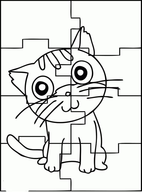 Free Puzzles Coloring ws Coloring Pages for Kids