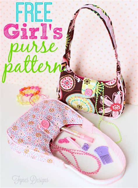 Free Sewing Pattern Girl s Purse FYNES DESIGNS