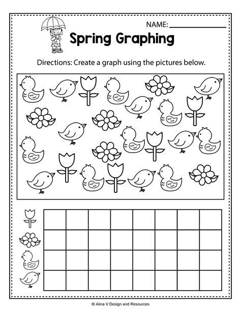 Free Spring Printables for Kids Spring worksheets
