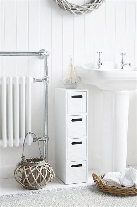 Free Standing Bathroom Cabinet Range The White Lighthouse