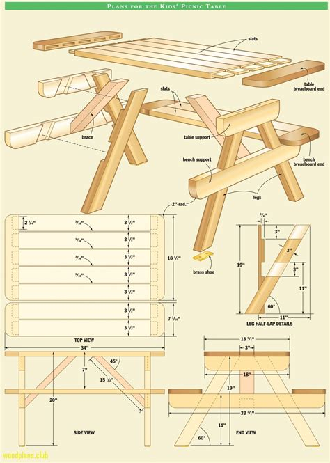Free Table Furniture Woodworking Plans to Build Tables