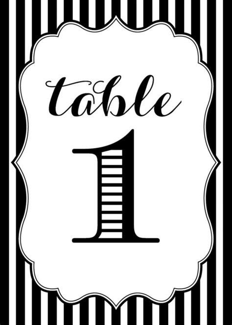Free Wedding Table Numbers Printable The Budget Savvy Bride
