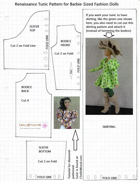 Free barbie doll clothes patterns to sew Sewing Solutions