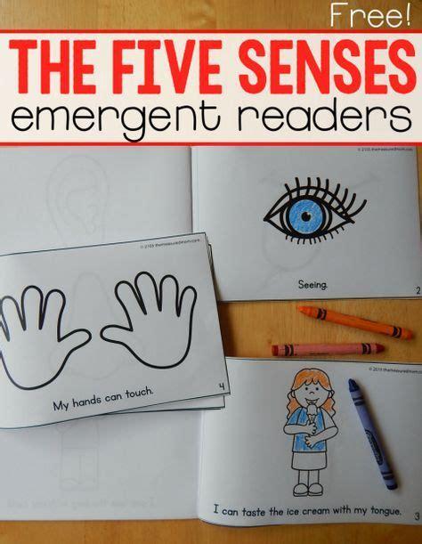 Free five senses emergent readers The Measured Mom