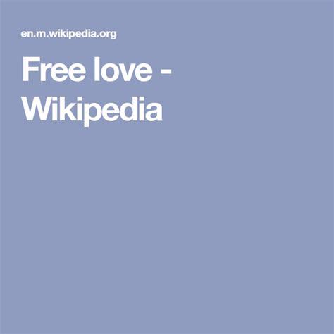 Free love Wikipedia