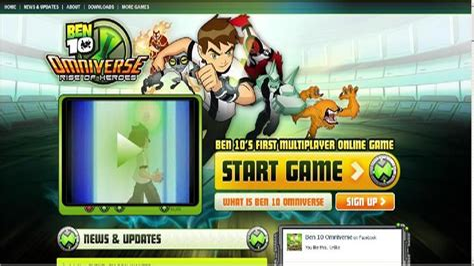 Free online Ben 10 games Cartoon Network India