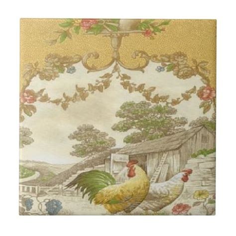 French Country Ceramic Tiles Zazzle