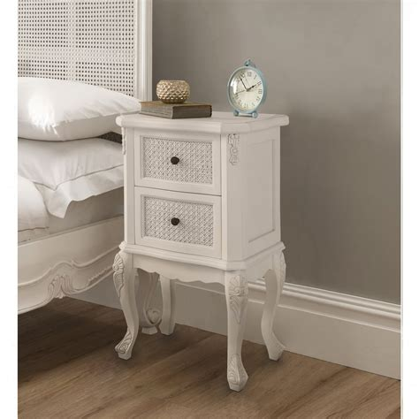 French Style Bedside Side Tables Crown French Furniture