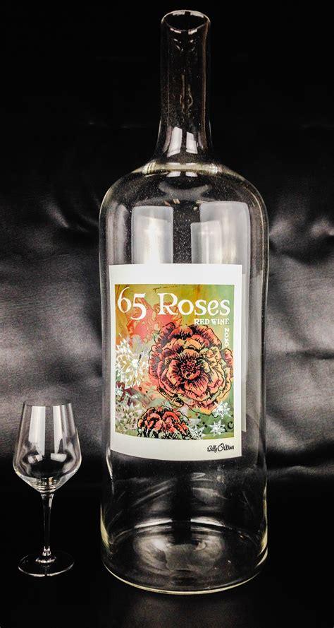 Fresh Northwest Design Custom Etched Wine Bottles