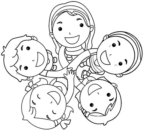Friends Coloring Pages Free Printable Friends Coloring