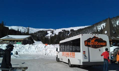 Front Range Ski Bus Colorado