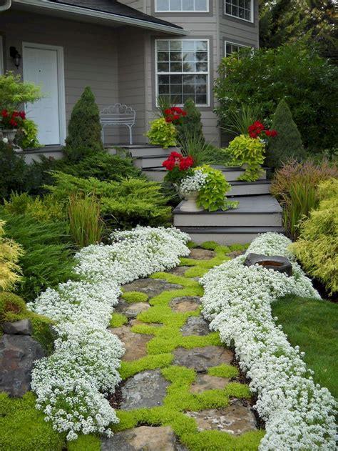 Front Yard Sidewalk Garden Ideas Better Homes and Gardens