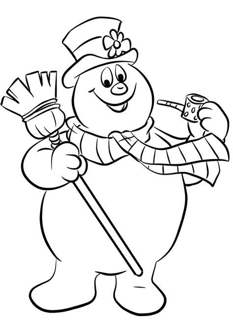 frosty the snowman coloring pages and activity sheets
