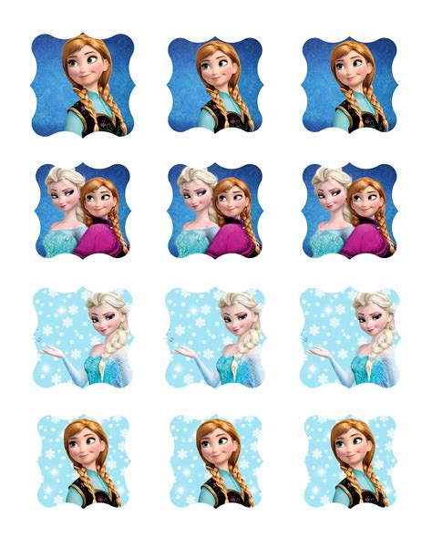 Frozen Free Printable Toppers Is it for PARTIES Is it