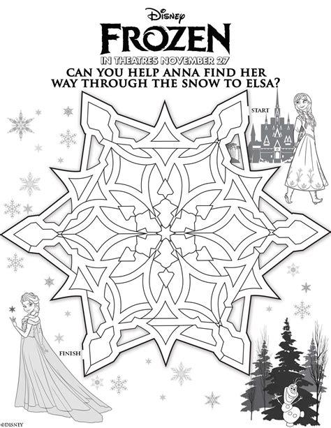 Frozen Games Activities Disney Frozen