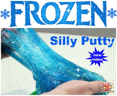 Frozen Silly Putty Tutorial Paging Fun Mums