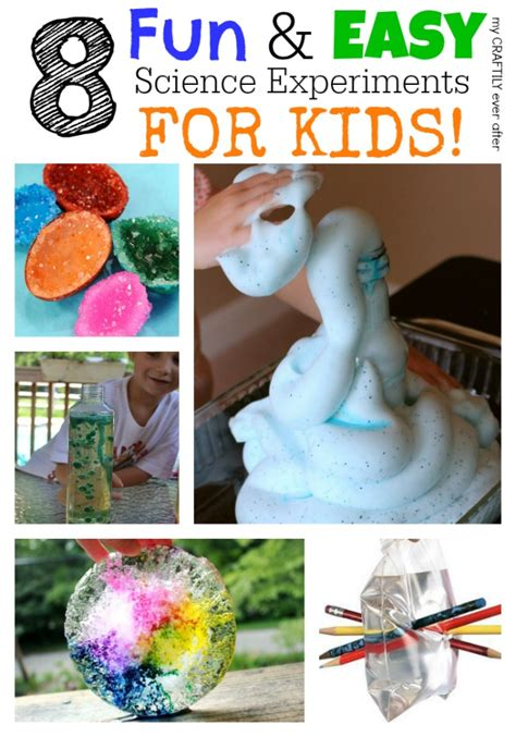 Fun Science Experiments for Kids Cool Projects Easy
