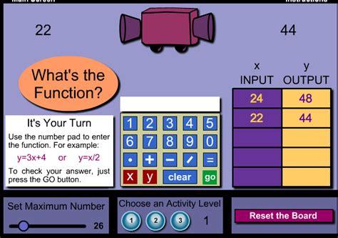 Function Machine MathPlayground Math Games