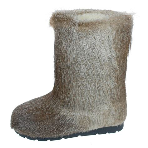 Fur Boots Mukluks FurHatWorld