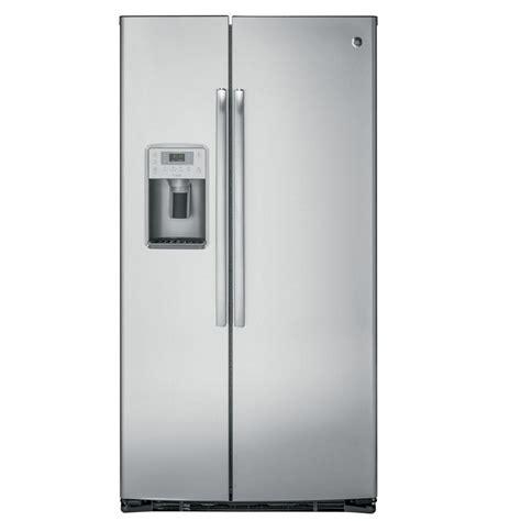 GE 21 9 Cu Ft Counter Depth Side By Side Refrigerator