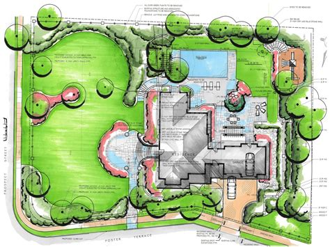 GH garden designs Landscape Architecture Design Plans