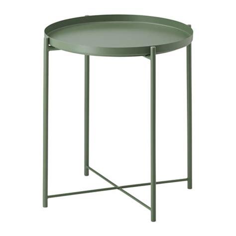 GLADOM Tray table Dark green 45x53 cm IKEA