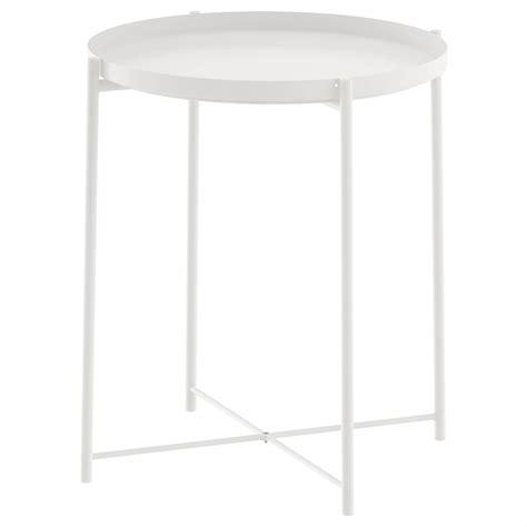 GLADOM Tray table white IKEA