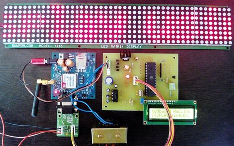 GSM based notice board Circuits Gallery