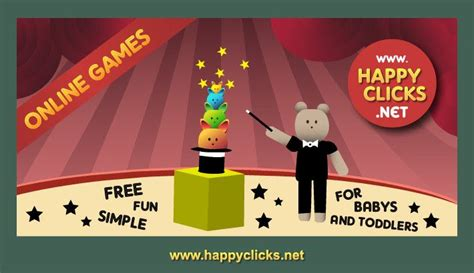 Games for Toddlers Boris The Magician