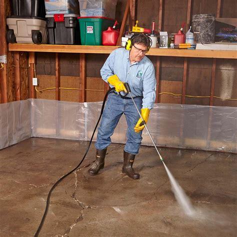 Garage Floor Resurfacing Fix a Pitted Garage Floor