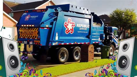 Garbage Truck Song for Kids Garbage Truck Videos for
