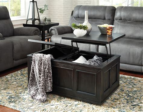 Gavelston Coffee Table with Lift Top Ashley Furniture
