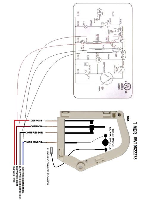 ge defrost timer wiring diagram images wiring diagram further defrost timer wiring defrost wiring diagram and