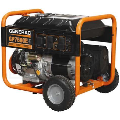 generac gp5500 wiring diagram images generac 5943 gp7500e 7500 watt electric start portable