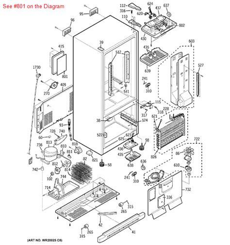 ge monogram refrigerator wiring diagram images gallery general electric refrigerator parts appliancepartspros