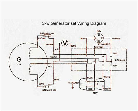 Generator Wiring Diagram