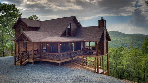 Georgia cabin rentals in the Blue Ridge mountains of GA