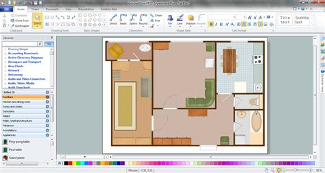Getting Started Easy To Use floor plan drawing software