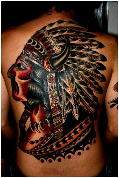 Getting a Native American Indian Tattoo The Trouble With