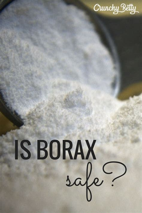 Getting to the Bottom of Borax Is it Safe or Not