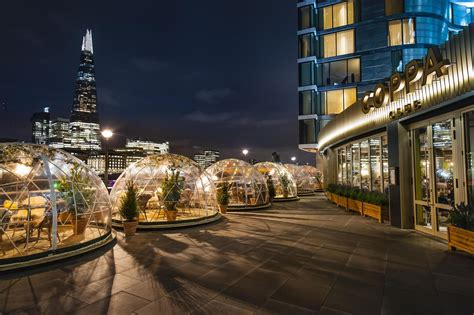 Giant igloos have sprung up near Tower Bridge London